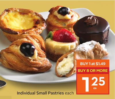 Individual Small Pastries