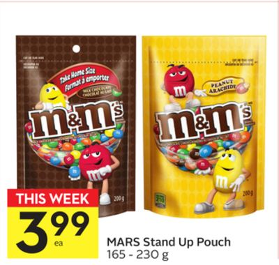 Mars Stand Up Pouch