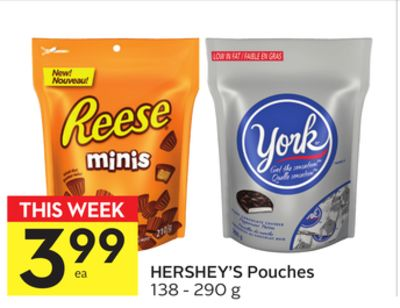Hershey's Pouches