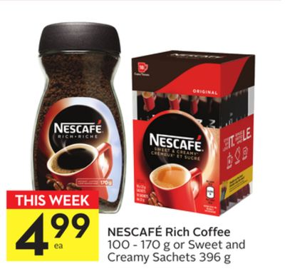Nescafé Rich Coffee