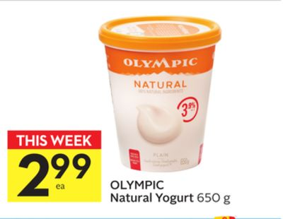 Olympic Natural Yogurt