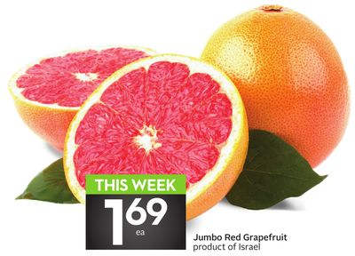 Jumbo Red Grapefruit