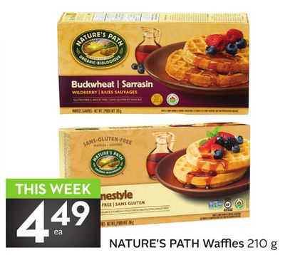 Nature's Path Waffles