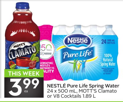 Nestlé Pure Life Spring Water
