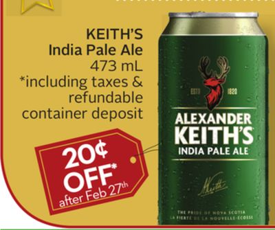 Keith's India Pale Ale