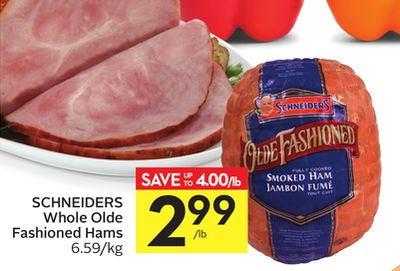 Schneiders Whole Olde Fashioned Hams