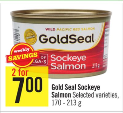 Gold Seal Sockeye Salmon On Sale Salewhale Ca