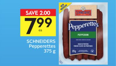 Schneiders Pepperettes - 75 Air Miles