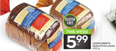 Compliments Gluten-free Loaves