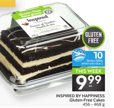 Inspired By Happiness Gluten-free Cakes - 10 Air Miles Bonus Miles