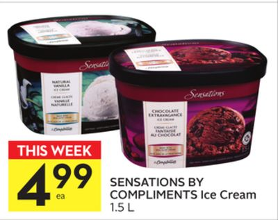 Sensations By Compliments Ice Cream