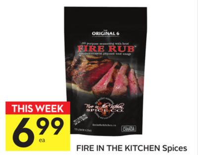Fire In The Kitchen Spices
