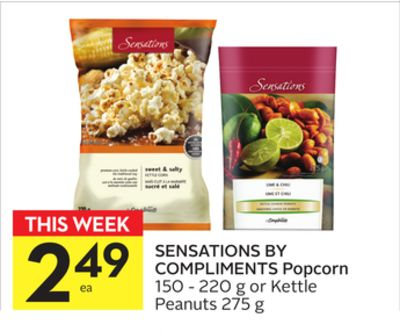 Sensations By Compliments Popcorn