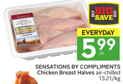 Sensations By Compliments Chicken Breast Halves