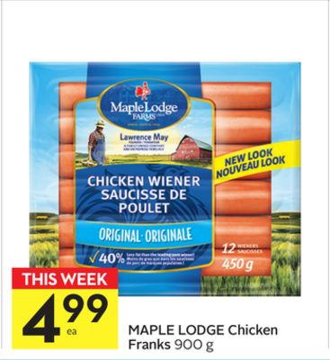 Maple Lodge Chicken Franks