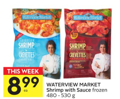Waterview Market Shrimp With Sauce