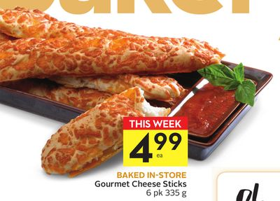 Gourmet Cheese Sticks