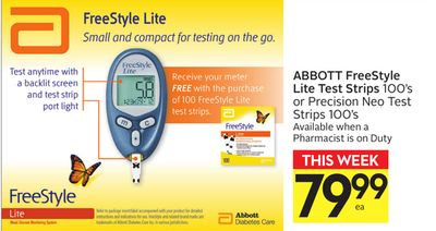 Abbott Freestyle Lite Test Strip