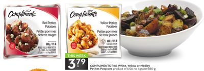 Compliments Red - White - Yellow or Medley Petites Potatoes