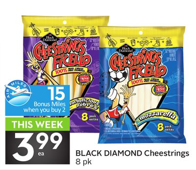 Black Diamond Cheestrings - 15 Air Miles
