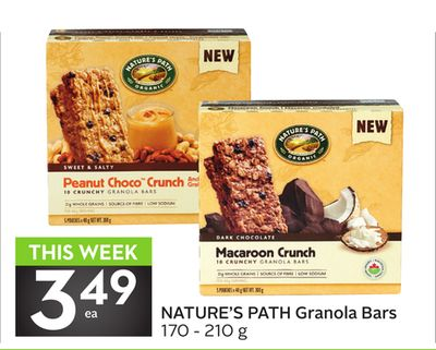 Nature's Path Granola Bars