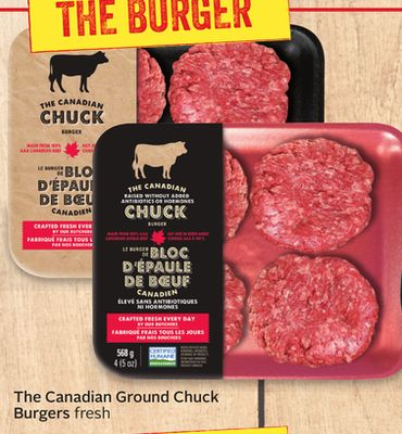 The Canadian Ground Chuck Burgers