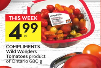 Compliments Wild Wonders Tomatoes