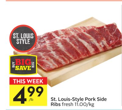 St. Louis-style Pork Side Ribs