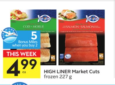 High Liner Market Cuts - 5 Air Miles