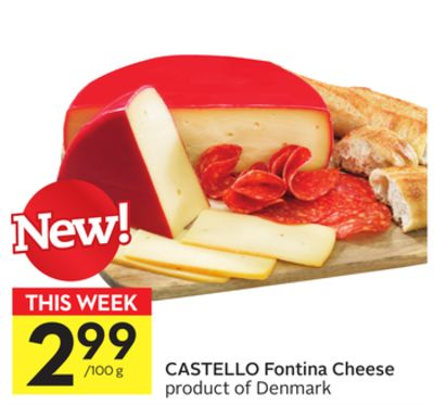 Castello Fontina Cheese