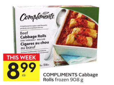 Compliments Cabbage Rolls