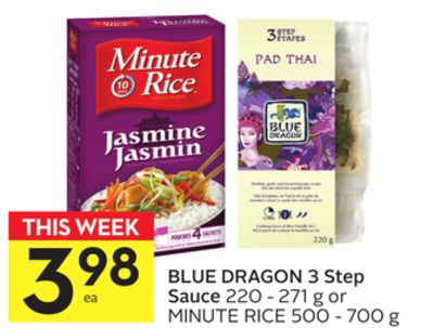 Blue Dragon 3 Step Sauce
