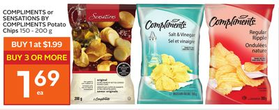Compliments or Sensations By Compliments Potato Chips