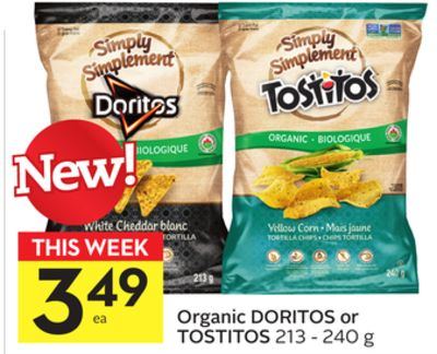 Organic Doritos or Tostitos