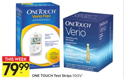 One Touch Test Strips