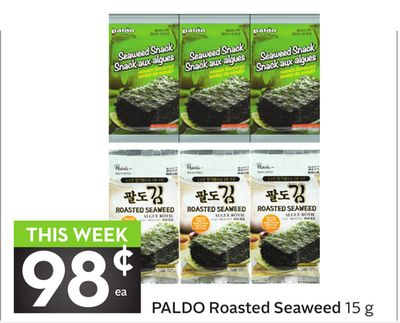 Paldo Roasted Seaweed