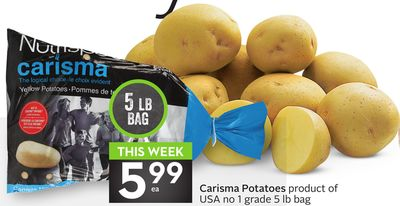 Carisma Potatoes