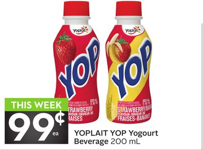 Yoplait Yop Yogourt Beverage 200 mL