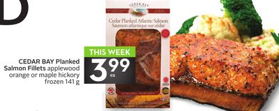 Cedar Bay Planked Salmon Fillets