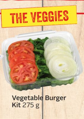 Vegetable Burger Kit