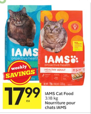 Iams Cat Food Formula Change