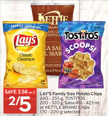 Lay's Family Size Potato Chips