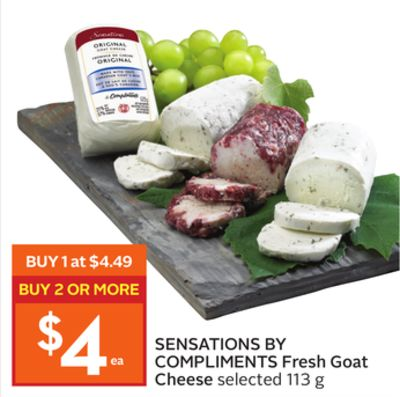 Sensations By Compliments Fresh Goat Cheese