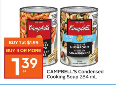 Campbell's Condensed Cooking Soup