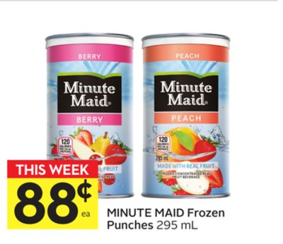 Minute Maid Frozen Punches