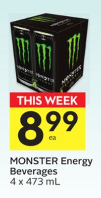 Monster Energy Beverages