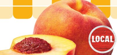 Ontario Large Tree-ripened Peaches