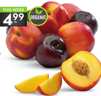 Organic Peaches - Plums or Nectarines