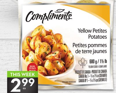 Compliments Mini Red - White - Yellow or Medley Potatoes