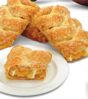 Peach Cheese Braided Strudel - 5 Air Miles Bonus Miles
